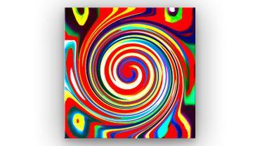 """Inspired by Kandinsky"" 42 – Bild 1"