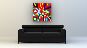 """Inspired by Kandinsky"" 45 – Bild 2"