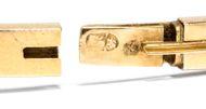 FABERGÉ - Der Glanz der Zarenzeit! - Saphir & Diamant Armreif vom Juwelier der Zaren, St. Petersburg um 1890. Photo © 2018 Hofer Antikschmuck Berlin