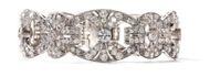 Viva la Diva! - Edles Platin-Armband des Art Déco mit 10,2 ct Diamanten, um 1928. Photo © 2019 Hofer Antikschmuck Berlin