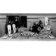 Kunst & Handwerk - Wundervolle Arts & Crafts-Brosche von Dorrie Nossiter, um 1935. Photo © 2018 Hofer Antikschmuck Berlin
