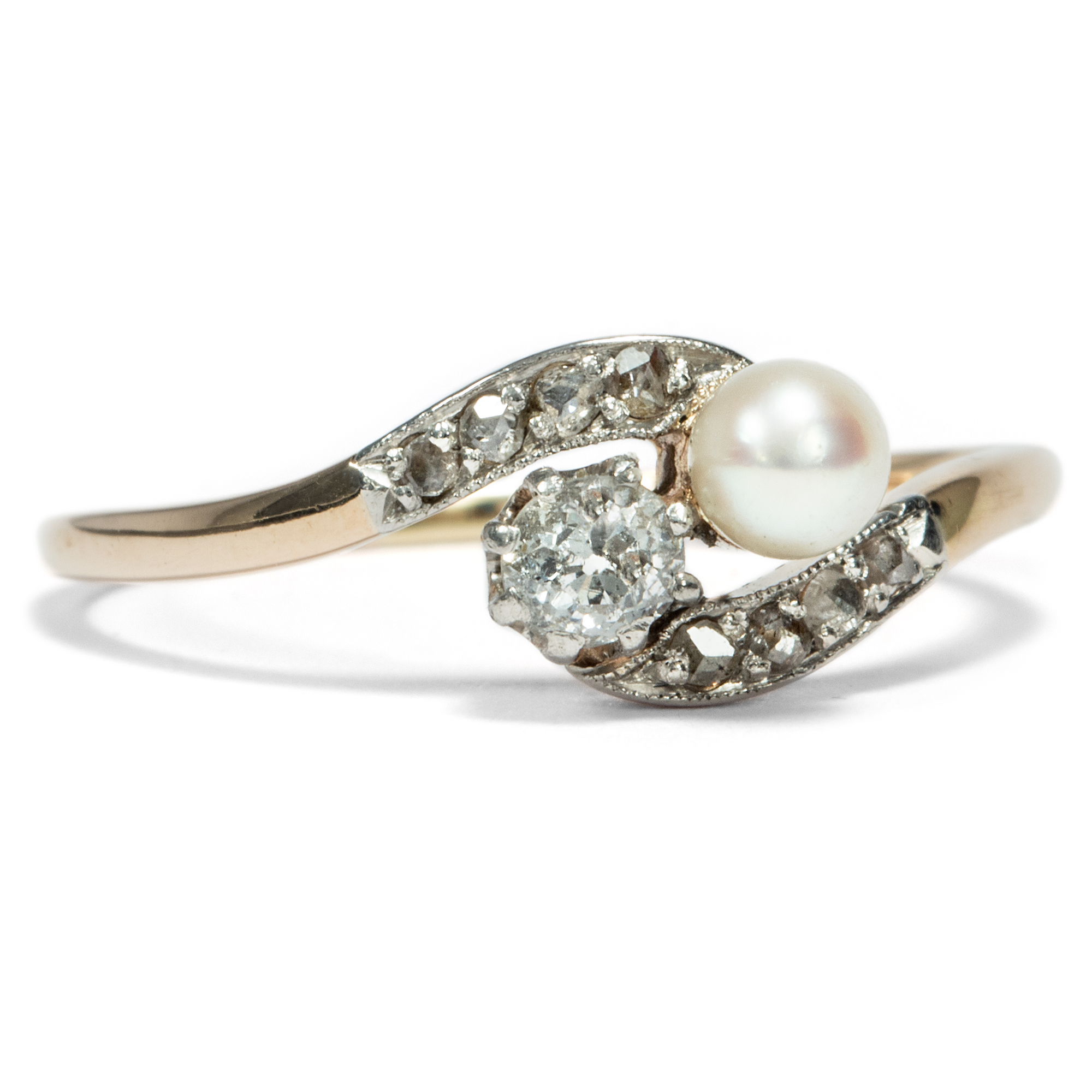 dress vintage dramatic extravagant cultured pearl cocktail wedding art products rings ring diamond deco and s