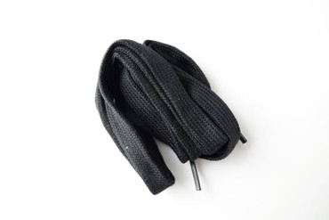 Shoelace black - for Nyon Black