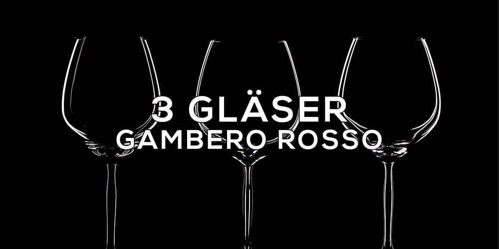 3-Gläser Gambero Rosso