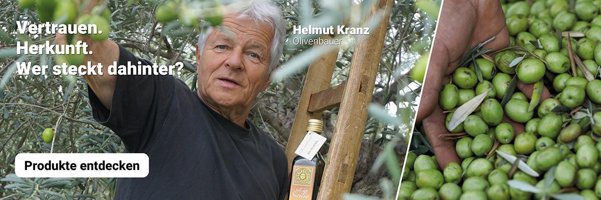 Feinstes Bio Olivenöl aus dem Süden Siziliens