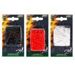 Best Sporting Dartpfeil Spitzen Nylon, 100 Stück, schwarz, weiß oder rot 001