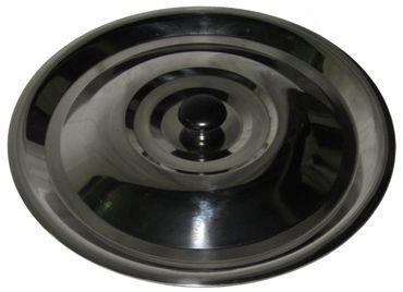 Best Sporting Deckel für Gulasch/Eintopfkessel, verschiedene Größen von 8-20 L, schwarz