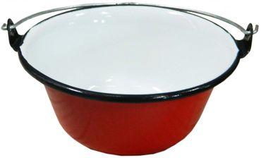 Best Sporting Servierkessel Gulasch/Eintopf, 0.6 L, rot oder schwarz