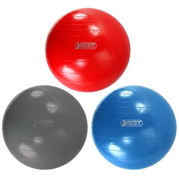 Best Sporting Gymnastikball 65-75-85 cm, blau oder rot
