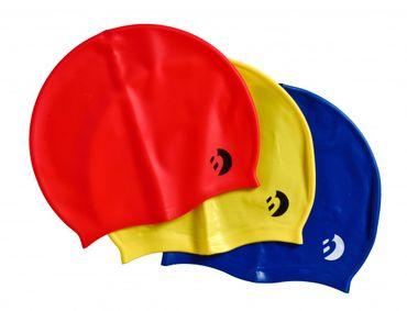 Best Sporting Schwimmkappe, Größe Junior oder Senior, blau, gelb oder rot
