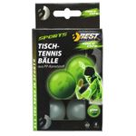 Best Sporting Tischtennisbälle, 6 St, glow in the dark 001