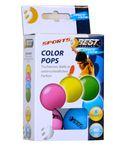 Best Sporting neon bunte Tischtennisbälle Color Pops 6 Stk. 001