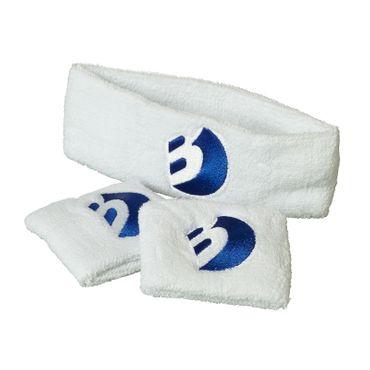 Best Sporting Anti-Schweiß-Set, weiß oder blau