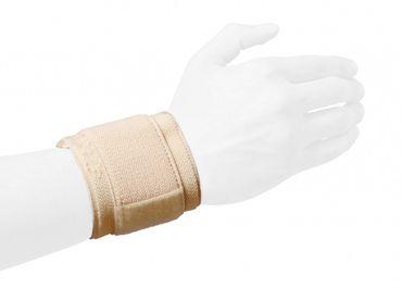Best Sporting Handgelenkbandage, beige, Elastik