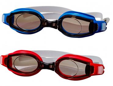 Best Sporting Schwimmbrille Stonefish, blau oder rot