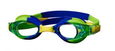 Best Sporting Schwimmbrille Euphony, blau/gelb/grün
