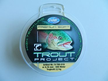 Trout Project Prem.soft 0,16mm