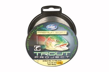 Trout Project Prem.soft 0,18mm