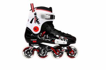 Cougar Inline Skates , ABEC 7 Chrome Kugellager , Schwarz-Weiß, verschiedene Größen