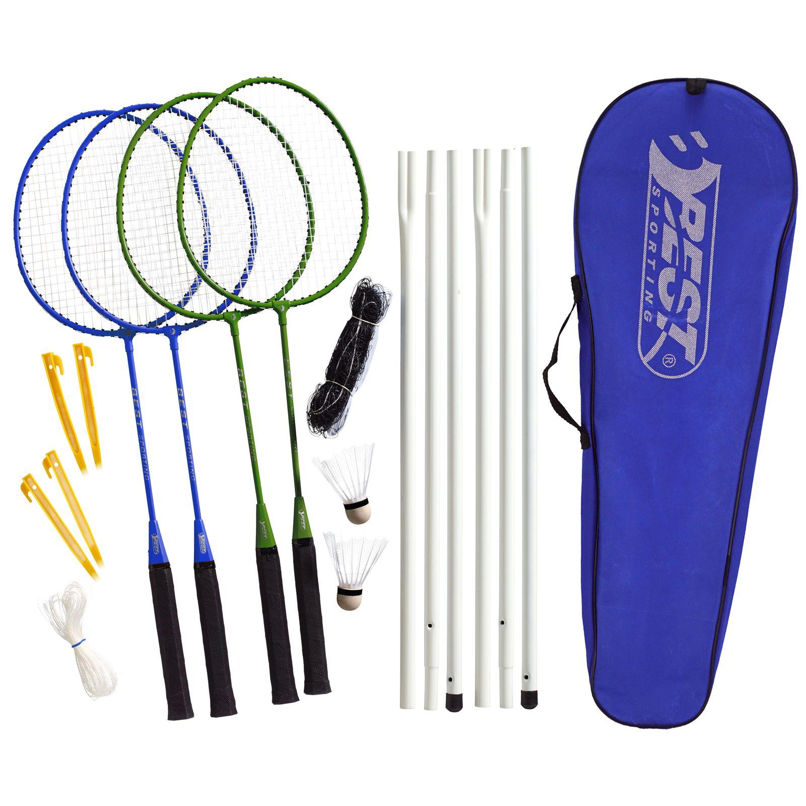 Badminton- und Tennis-Netz Tennis Netz Federball Netz Badminton Netz mit Tasche
