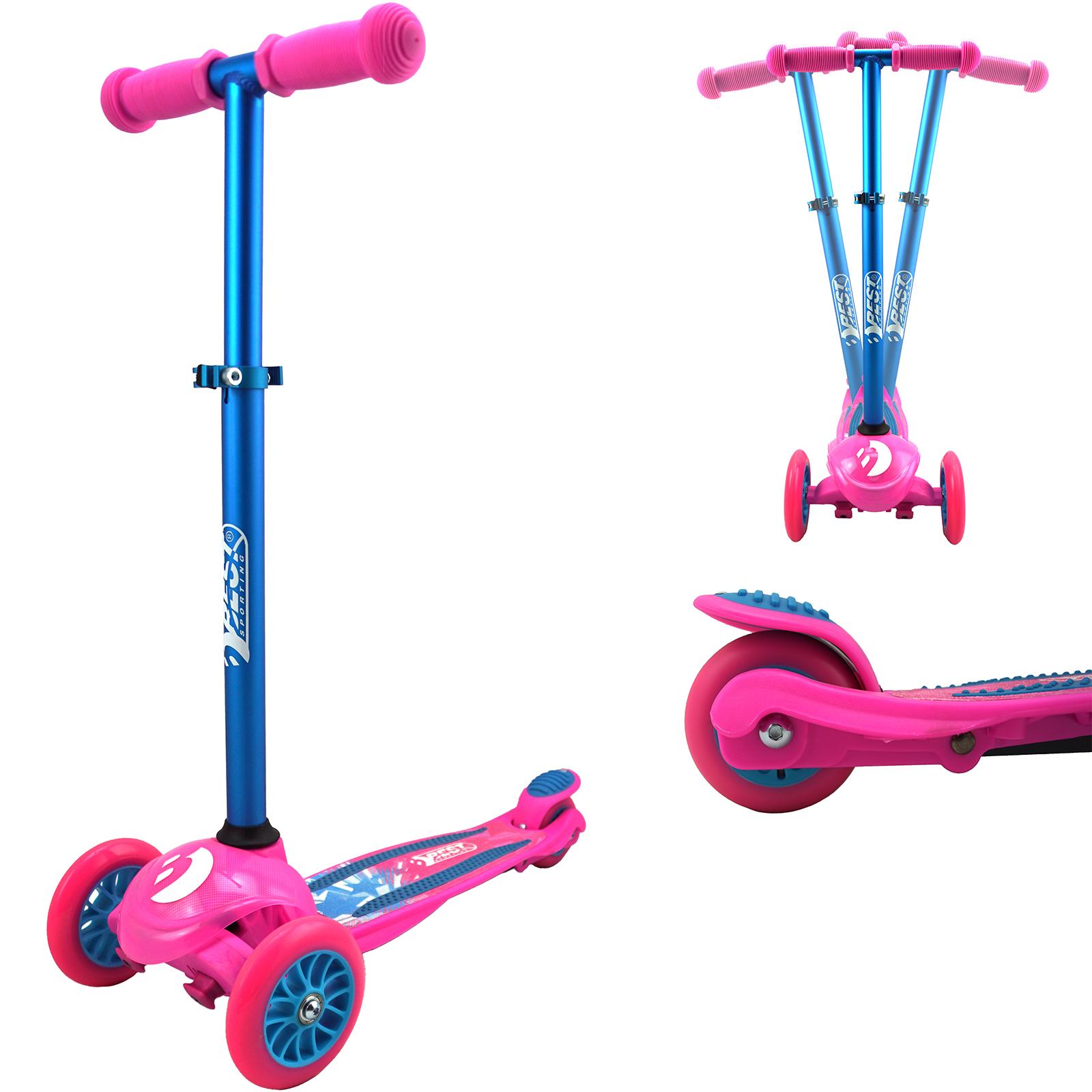 best sporting kinder scooter mit 3 r dern 3 wheel 121 roller. Black Bedroom Furniture Sets. Home Design Ideas