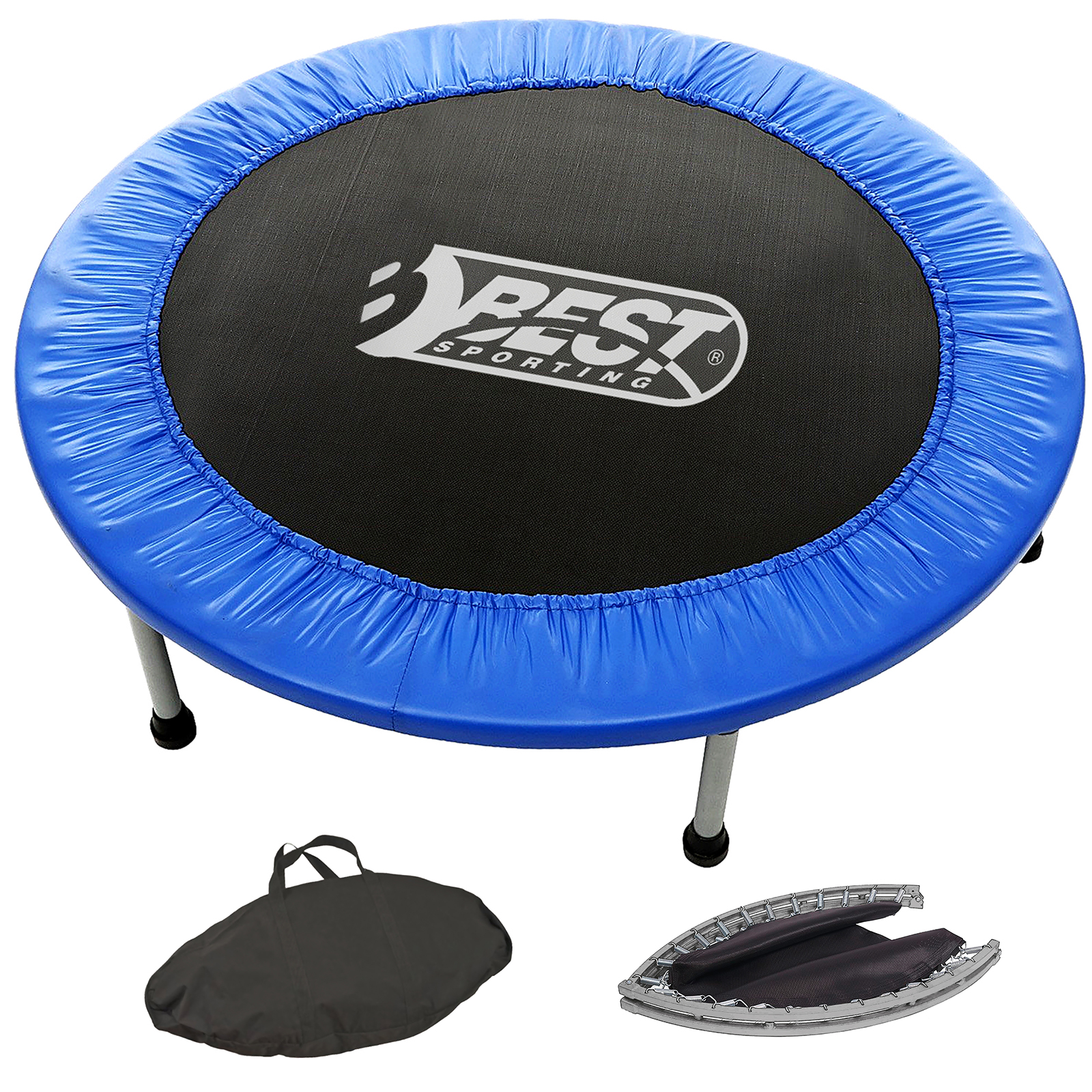 best sporting fitness trampolin faltbar fitness trampoline indoor trampoline. Black Bedroom Furniture Sets. Home Design Ideas