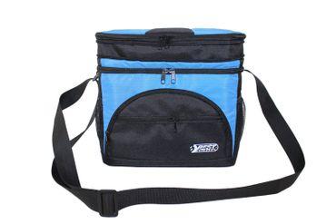 Best Sporting Kühltasche 30x18x30cm, blau-schwarz