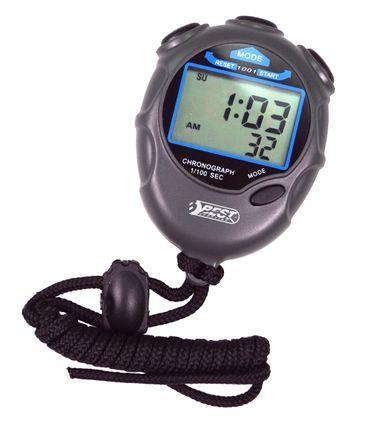 Best Sporting Digitale Stoppuhr Professional mit Uhr + Kalender, verstellbare Kordel