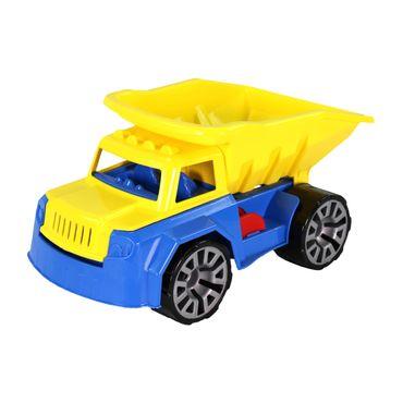 Best Sporting Spielzeug LKW Kipplader Baustellenfahrzeug, blau-gelb