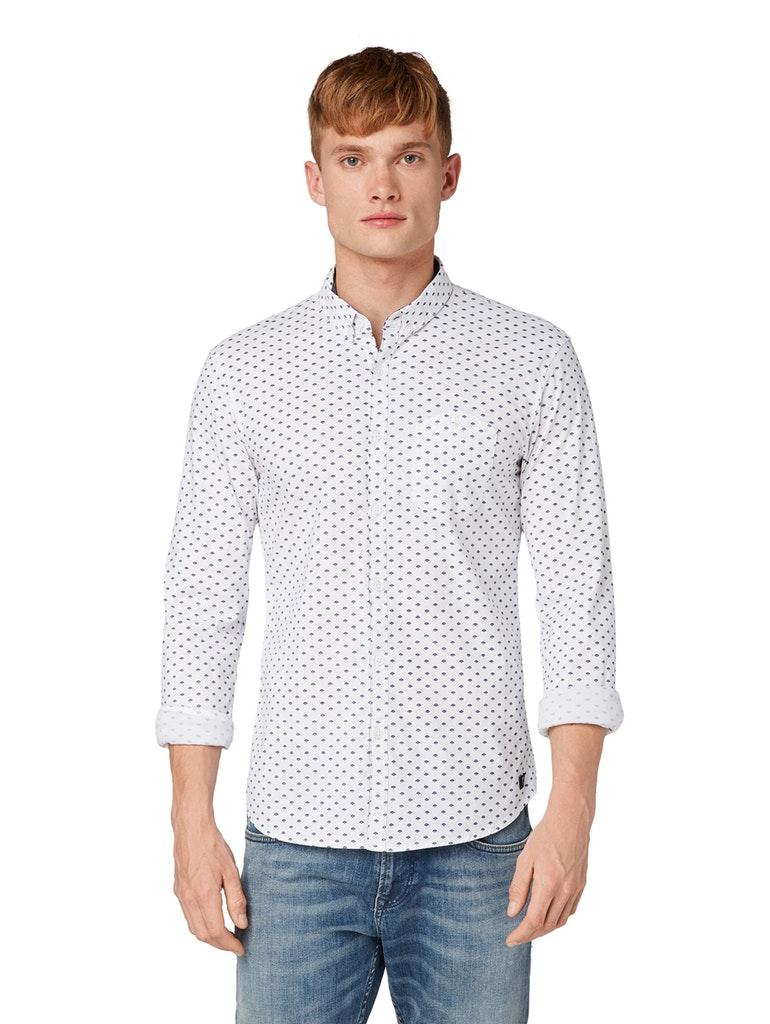 Hemden von TOM TAILOR Denim in Weiß für Herren