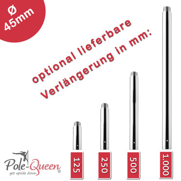 Pole Dance Stange Professional 125 | Basic Set inkl. 125mm Extension – Bild 3
