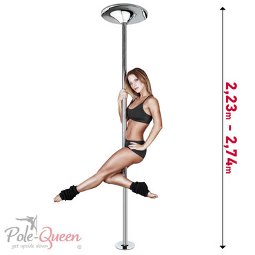 Pole Dance Stange Professional 500 | Basic Set inkl. 500mm  Extension