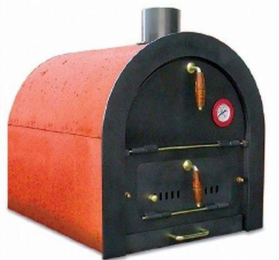 Steinbackofen Holzbackofen Pizzaofen Bausatz Valoriani mit indirekter Befeuerung – Bild 5