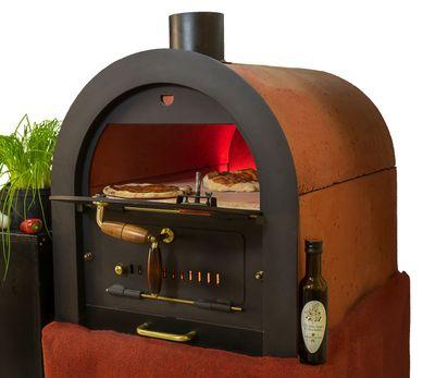 Steinbackofen Holzbackofen Pizzaofen Bausatz Valoriani mit indirekter Befeuerung – Bild 1
