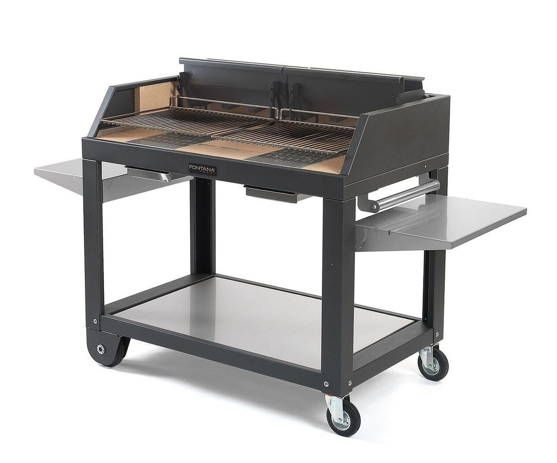 grill fontana egeo 80 befeuerung mit holz und kohle. Black Bedroom Furniture Sets. Home Design Ideas