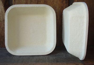 """Gärkorb Gärkörbchen Holzschliff für 2 kg Brote quadratisch glatt, inkl. Info """"perfekt Brotbacken"""""""