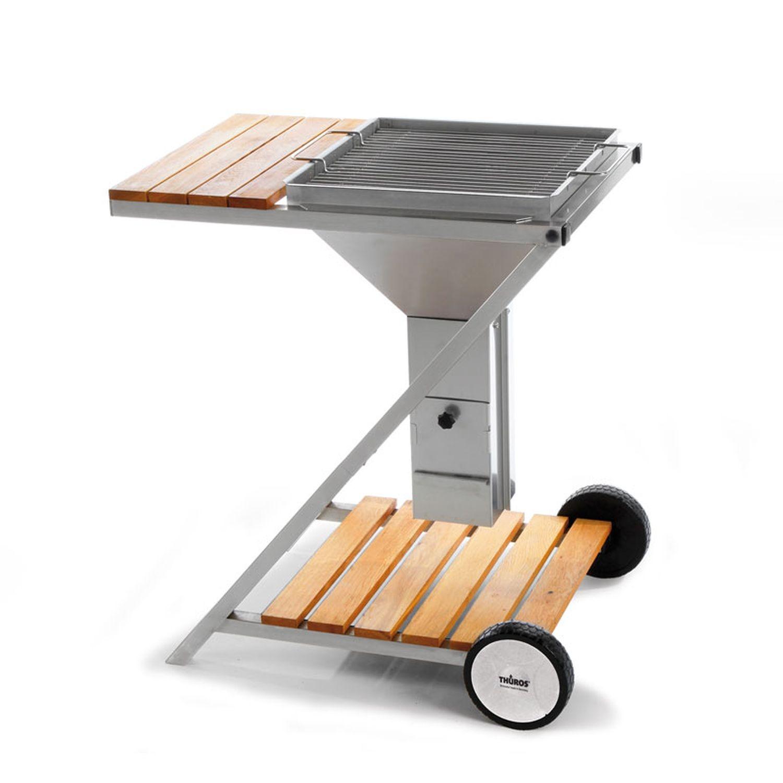 th ros amrum gst4242ehz holzkohle grill station. Black Bedroom Furniture Sets. Home Design Ideas