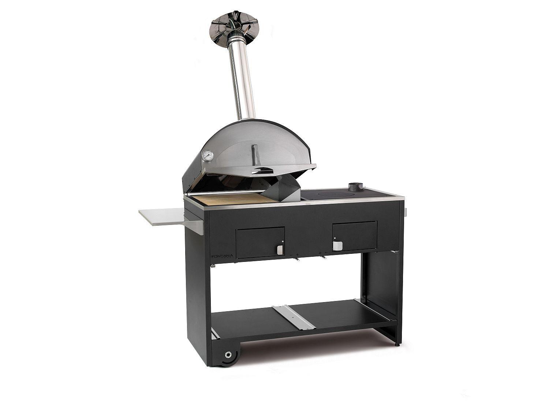 Pizzaofen mit grill