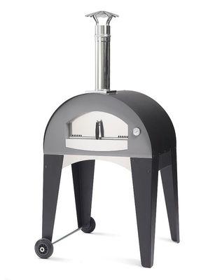Pizzaofen Holzbackofen Capri 70x50 – Bild 5
