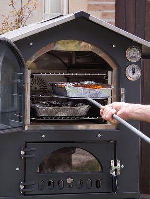 Holzbackofen Pizzaofen Fontana Gusto 100 – Bild 9