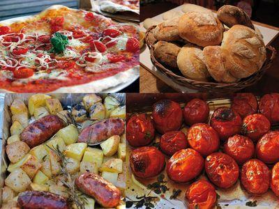 Holzbackofen / Pizzaofen Fontana Rosso 80 – Bild 12