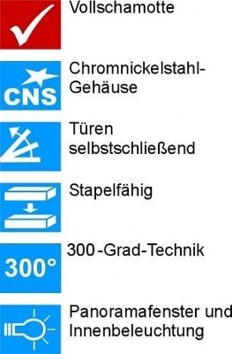 Brotbackofen NBO 8 Elektro-Steinbackofen Wärmespeicher-Backofen – Bild 6