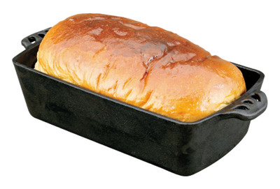 Brotbackform Backform Brotform Kastenform Gusseisen Camp Chef Bread Pan – Bild 2