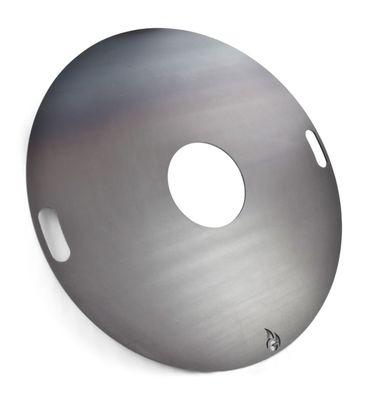 100 cm Grillplatte | Feuerplatte | Feuerring 4-tlg. Komplett-Set – Bild 4
