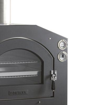 Fontana INC V 80x54 Einbau-Holzbackofen Pizzaofen – Bild 2