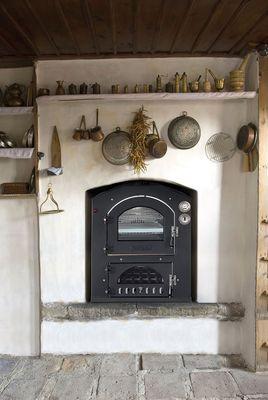 Fontana INC V 80x54 Einbau-Holzbackofen Pizzaofen – Bild 5
