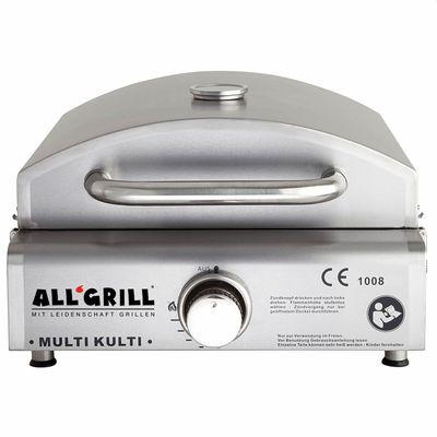 Multi-Kulti Set 4 Gas-Pizzaofen Grill ohne Zündsicherung – Bild 2