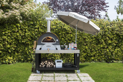 ALFA FORNI CIAO Pizzaofen Holzbackofen Top/Tisch-Ausführung – Bild 4