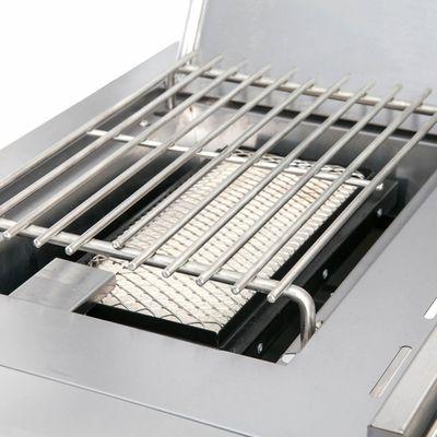 All'Grill CHEF M BLACK Gasgrill Voll-Edelstahl Ausführung mit AIR SYSTEM – Bild 8