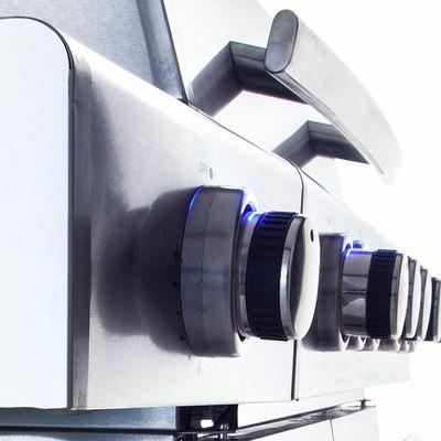 All'Grill CHEF M Gasgrill Voll-Edelstahl Ausführung mit AIR SYSTEM – Bild 7